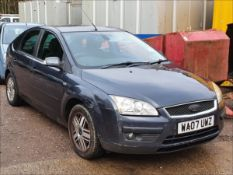 07/07 FORD FOCUS GHIA - 1798cc 5dr Hatchback (Grey, 106k)