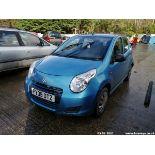 09/09 SUZUKI ALTO SZ3 - 996cc 5dr Hatchback (Blue, 139k)