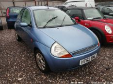 03/52 FORD KA LUXURY - 1299cc 3dr Hatchback (Blue, 142k)