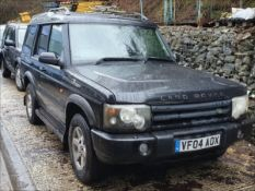 04/04 LAND ROVER DISCOVERY PURSUIT TD5 A - 2495cc 5dr Estate (Black, 133k)