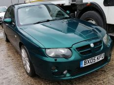 05/05 MG ZT+ V6 190 - 2497cc 4dr Saloon (Green, 78k)
