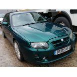 05/05 MG ZT+ V6 190 - 2497cc 4dr Saloon (Green, 78k)