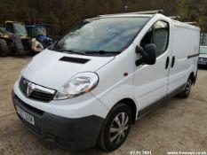 07/07 VAUXHALL VIVARO 2700 CDTI SWB - 1995cc 5dr Van (White, 267k)