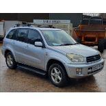 02/02 TOYOTA RAV4 VX VVTI AUTO - 1998cc 5dr Estate (Silver, 74k)