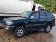 2000 TOYOTA LANDCRUISER AMAZON VX TDA - 4164cc 5dr Estate (Green, 144k)
