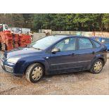 06/06 FORD FOCUS LX AUTO - 1596cc 5dr Hatchback (Blue, 83k)