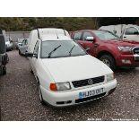 03/03 VOLKSWAGEN CADDY DIESEL - 1896cc 3dr Van (White, 174k)