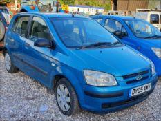 05/05 HYUNDAI GETZ GSI - 1341cc 5dr Hatchback (Blue, 187k)