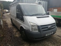 09/58 FORD TRANSIT 85 T280S FWD - 2198cc 5dr Van (White, 69k)