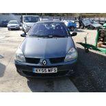 05/55 RENAULT CLIO DYNAMIQUE 16V - 1149cc 5dr Hatchback (Blue, 106k)