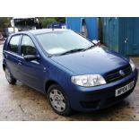 04/04 FIAT PUNTO ACTIVE 8V - 1242cc 5dr Hatchback (Blue, 165k)