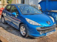 08/08 PEUGEOT 207 SPORT - 1397cc 5dr Hatchback (Blue, 68k)