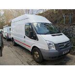 14/14 FORD TRANSIT 100 T350 RWD - 2198cc Van (White, 156k)