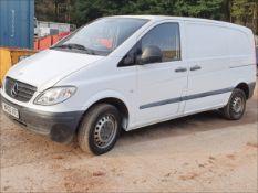 05/05 MERCEDES VITO 109 CDI COMPACT - 2148cc Van (White, 161k)