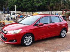 13/63 CITROEN C4 VTR+ - 1598cc 5dr Hatchback (Red, 41k)