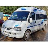 06/06 CITROEN RELAY 1800 TD HDI LWB - 2179cc 5dr Motor Caravan (White, 84k)