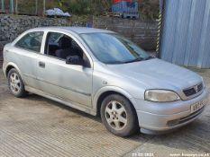 2000 VAUXHALL ASTRA SXI 16V - 1796cc 3dr Hatchback (Silver, 118k)