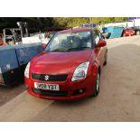 08/08 SUZUKI SWIFT DDIS - 1248cc 5dr Hatchback (Orange, 111k)