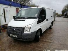 14/14 FORD TRANSIT 100 T280 FWD - 2198cc 5dr Van (White, 100k)