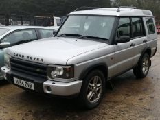 04/54 LAND ROVER DISCOVERY LANDMARK TD5 - 2495cc 5dr Estate (Silver, 134k)