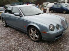 2002 JAGUAR S-TYPE V8 R AUTO - 4196cc 4dr Saloon (Blue, 80k)