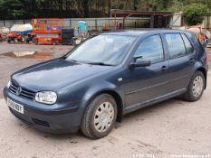 2001 VOLKSWAGEN GOLF SE TDI - 1896cc 5dr Hatchback (Grey, 146k)