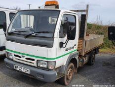02/02 NISSAN CABSTAR E95 SWB - 2664cc 2dr Tipper (White)
