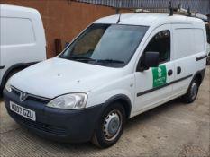 07/07 VAUXHALL COMBO 1700 CDTI - 1248cc 5dr Van (White, 66k)