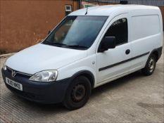 10/10 VAUXHALL COMBO 1700 CDTI - 1248cc 4dr Van (White, 120k)