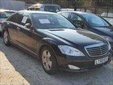 08/58 MERCEDES S320 CDI AUTO - 2987cc 4dr Saloon (Black)