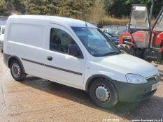 08/58 VAUXHALL COMBO 1700 CDTI - 1248cc 5dr Van (White, 87k)