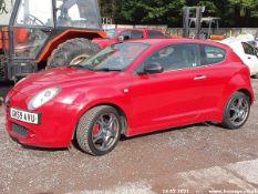 10/59 ALFA ROMEO MITO VELOCE T - 1368cc 3dr Hatchback (Red, 114k)