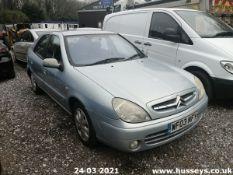 03/03 CITROEN XSARA DESIRE - 1587cc 5dr Hatchback (Grey)