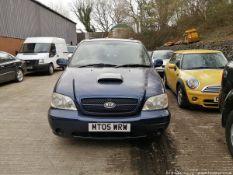 05/05 KIA SEDONA SE AUTO - 2902cc 5dr MPV (Blue)