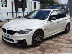 2016 BMW M3 S-A - 2979cc 4dr Saloon (White, 38k)