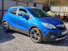 14/14 VAUXHALL MOKKA SE CDTI S/S - 1686cc 5dr Hatchback (Blue, 64k)