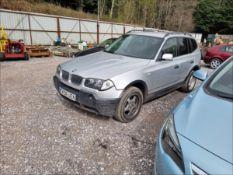 06/06 BMW X3 D - 1995cc 5dr Estate (Silver)