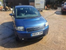 04/54 AUDI A2 FSI SPORT - 1598cc 5dr Hatchback (Blue, 95k)