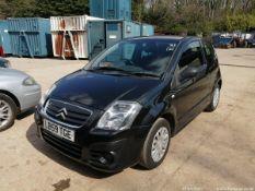 09/59 CITROEN C2 VTR HDI - 1398cc 3dr Hatchback (Black, 101k)