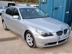 04/04 BMW 530D SE AUTO - 2993cc 4dr Saloon (Silver, 207k)