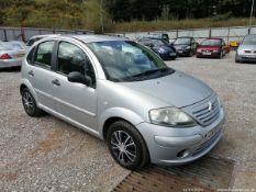 05/05 CITROEN C3 DESIRE - 1360cc 5dr Hatchback (Silver, 61k)