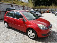 07/07 FORD FIESTA GHIA TDCI - 1399cc 5dr Hatchback (Red)