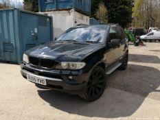 05/05 BMW X5 SPORT D AUTO - 2993cc 5dr Estate (Black)