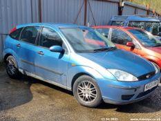 03/03 FORD FOCUS LX TDCI - 1753cc 5dr Hatchback (Blue)