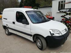09/09 PEUGEOT PARTNER 800 ORIGIN HDI - 1560cc Van (White, 161k)