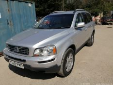 09/59 VOLVO XC90 ACTIVE AWD D5 AUTO - 2400cc 5dr Estate (Silver, 116k)