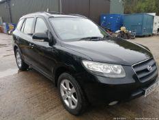 09/59 HYUNDAI SANTA FE CDX CRTD 4WD - 2188cc 5dr Estate (Black, 89k)