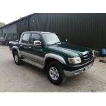 04/04 TOYOTA HILUX 280 VX MWB - 2494cc 4dr Pickup (Green, 191k)