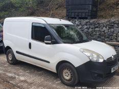 12/62 VAUXHALL COMBO 2000 L1H1 CDTI - 1248cc 3dr Van (White, 136k)