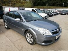 08/08 VAUXHALL VECTRA EXCLUSIV - 1796cc 5dr Hatchback (Silver)